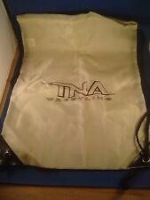 TNA / IMPACT Wrestling Drawstring Bag / Brown bag special NEW