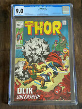 Thor #173 (1970) Stan Lee Story Ulik Appearance CGC Universal 9.0 White Pages