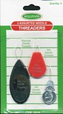3 Assorted Needle Threaders