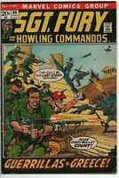 Marvel Comics Sgt. Fury and his Howling Commandos #99 VG June 1972