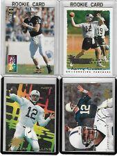 KERRY COLLINS ROOKIE CARD LOT OF 4 NFL CAROLINA PANTHERS