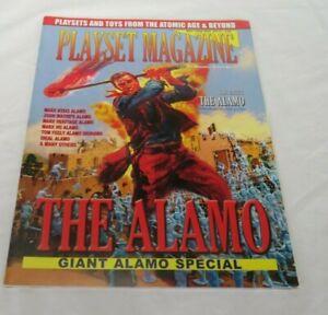 Playset magazine #15 The John Wayne Alamo , Miniature Border Battle + heritage +