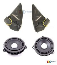 BMW OEM NEW F21 F22 F23 TWEETER SPEAKER AND MID RANGE SPEAKER HARMAN KARDON SET