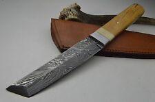 TANTO XXL Bowie Damastmesser Knife Damast Jagdmesser Deutscher Händler MEGA #172