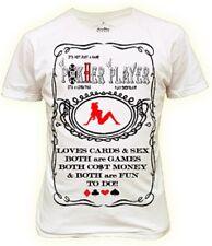 Mens poker player Tshirt new xxl w