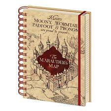 Genuine Harry Potter Marauder's Map A5 Wiro Hardback Journal Notebook Note Pad
