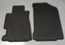 08P13-S6M-210 OEM HONDA ALL SEASON FLOOR MAT SET BLACK 02-06 RSX FRONT ONLY!