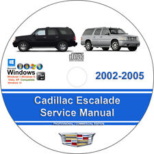 Car truck repair manuals literature for cadillac ebay cadillac escalade 2002 2003 2004 2005 factory workshop service repair manual fandeluxe Gallery
