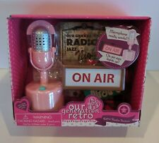 "Our Generation Retro Radio Station Microphone For 18"" Doll American Girl"