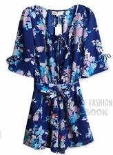 Floral Chiffon Jumpsuits, Rompers & Playsuits for Women