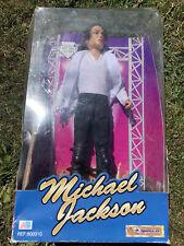 "Genuine Michael Jackson 12"" Doll. Street Life King Of Pop Doll Figure NIB 1995."