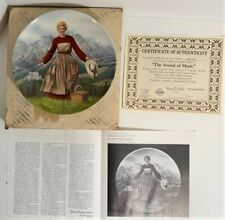 The Sound Of Music Collector's Plate Series #1 T. Crnkovich 1986 Knowles