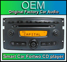Smart Car Fortwo car stereo, Smart CD player head unit, Radio FM AM
