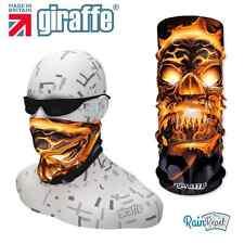 G289 FIAMMA acceso Skull Bike Headwear Fromlowitz multifunzionale Bandana Fascia per capelli