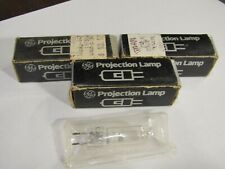 1 New General Electric Ge Fcs Projector Projection Lamp Bulb 24v 150w Amp 2 Used