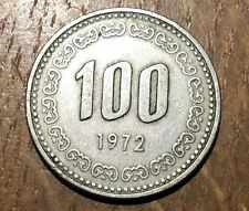 PIECE DE 100 WON 1972 CORÉE DU SUD (102)