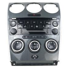 2006-2007 MAZDASPEED Mazda 6 Speed OEM Radio Head Unit Faceplate HVAC Controls