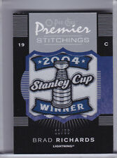 2007-08 O-PEE-CHEE #PS-BR BRAD RICHARDS COMMEMORATIVE PATCH LIGHTENING 11/99