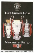 ULTIMATE GOAL MANCHESTER UNITED Original Starline Poster MINI Promo Piece 3x5