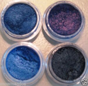 MINERAL MAKEUP BARE 4~5g EYESHADOW LOOSE POWDER MICA BLUE MIDNIGHT SWEETSCENTS