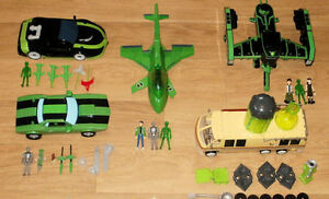 Ben 10 Multi Listing CHOICE  of Cars +Action Figures, Campervan, Spaceships