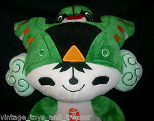 "12"" BEIJING 2008 GREEN OLYMPICS MASCOT FUWA NINI STUFFED ANIMAL PLUSH TOY DOLL"