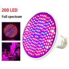 200 Led Plant Grow full spectrum Light bulb Flower For seed Vegetable Greenhouse