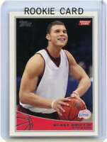 Blake Griffin Rookie Card 2009-10 Topps #316 Los Angeles Clippers
