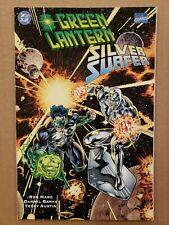 Green Lantern / Silver Surfer Unholy Alliances TPB DC Marvel 1995 NM
