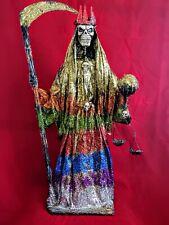 36 Inch Santa Muerte, Grim Reaper, Religious Statue, Holy Death, Santisima Mache