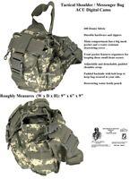 Shoulder Bag / Messenger Bag / Tactical / Military / Survival Gear - CAMOUFLAGE