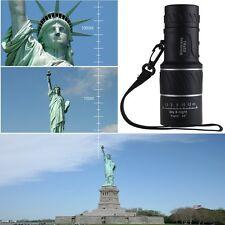 Black Night Vision 16x52 Dual Focus Optics Zoom Lens Hunting Monocular Telescope
