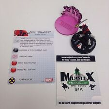 Heroclix Uncanny X-Men set Nightcrawler #044 Rare figure w/card!