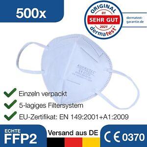 Mundschutz Maske - 500 Stück - FFP2 - Atem Mund Nase Schutzmaske Gesichtsmaske