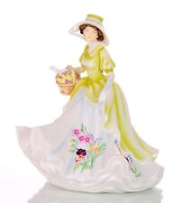 """THE ENGLISH LADIES COMPANY FIGURINE 4 SEASONS SPRING PROMISE DOLL BOXED  8"""""""