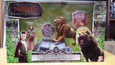 Chronicles of Narnia Prince Caspian Lucy & Aslan action figure set NIB