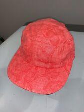New Era Originals 5 Panel Camper/Runner Cap Hat OSFM Pink Floral Strapback