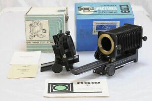 Nikon F M42 PZF Bellows Balgen Balgengerät Dia Kopierer slide copy  set !!!