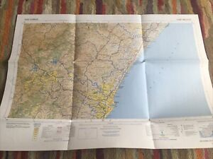 South Africa Map Durban 2930 1994 Folded Used 85x60cm