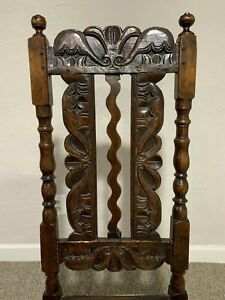 Rare 17th Century English Dining Chair from Yorkshire Good Condition