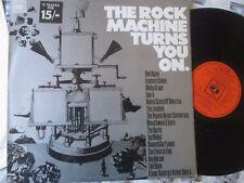 Rock Machine Turns You On Various Artists CBS – PR 22 UK Vinyl LP Album