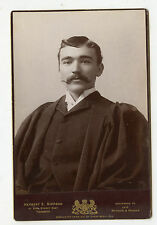 Cabinet Photo-Ex Cond-Toronto, Successor to Notman-Young Man, Robe, Moustache