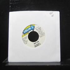"General B - Why Me / Gin Juice 7"" VG+ Vinyl 45 1997 Jamaica Colin Fat Records"