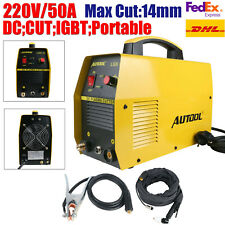 Plasma Cutter 50A IGBT Inverter Air HF Ignition Cutting Machine Portable 220V
