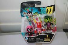 Teen Titans Go 3 Packs Raven, Trigon, Beastboy New