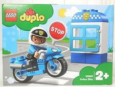 Lego Duplo 10900 Police Bike Polizeimotorrad mit Figur Neu & OVP