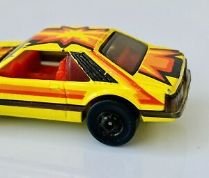 Hot Wheels Turbo Mustang The Hot Ones Gold Hubs w/ Error!