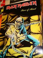IRON MAIDEN VINTAGE 1983 83 PIECE OF MIND PROMOTIONAL EDDIE POSTER -NICE!