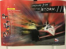 """2004 Indy Car Series 27"""" x 18""""  Schedule LAMINATED Poster Indycar"""