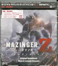 Mazinger Z-mazinger Z Movie Infinity Original Soundtrack-japan CD G35